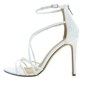 Zigi Soho White Strappy High Heel Sandals